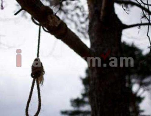 Արմավիրի Այգեվան գյուղում գտել են 21-ամյա երիտասարդի դին՝ ծառից կախված