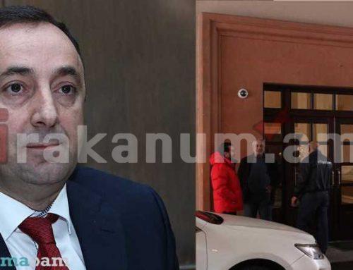 Ինչ են փնտրում իրավապահները Թովմասյանի բնակարանում