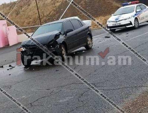 Խոշոր վթար Արարատի մարզում. Volkswagen-ը դուրս է եկել երթևեկելի գոտուց, հայտնվել ձորակում (ֆոտո)