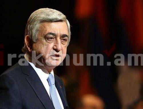 Երրորդ նախագահ Սերժ Սարգսյանի պաշտպանական թիմը՝ ՀՔԾ-ի տարածած հաղորդագրության մասին հայտարարություն է տարածել