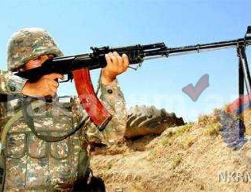 ՀՀ ԶՈՒ 4-րդ զորամիավորումում անցկացվել է կրակային պատրաստության գործնական պարապմունք