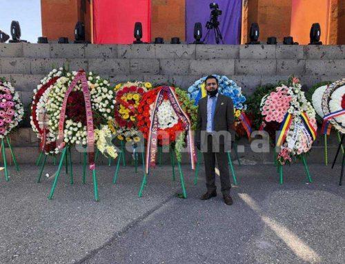 Հայաստանում Հնդկաստանի դեսպանն այցելել է Սարդարապատ