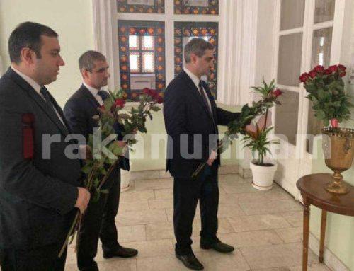 Վրաստանում ՀՀ դեսպանատան դիվանագետները այցելել են Վորոնցովյան պալատ