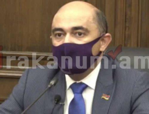 Հարցմամբ դիմել եմ Հանրապետության նախագահ Արմեն Սարգսյանին. Էդմոն Մարուքյան