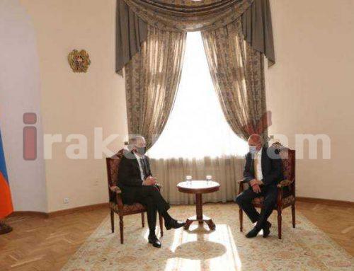 Փոխվարչապետը դեսպանի հետ քննարկել է ՀՀ-ում և ՌԴ-ում վարակի ստեղծած իրավիճակի մեղմման միջոցառումները