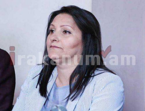Մանվել Գրիգորյանի կնոջը՝ Նազիկ Ամիրյանին մոտ 220 մլն դրամի յուրացման մեղադրանք է առաջադրվել