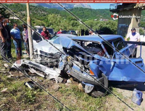 Տավուշի մարզում միմյանց են բախվել 17–ամյա վարորդի 07-ը և 24-ամյա վարորդի Opel-ը. կան վիրավորներ