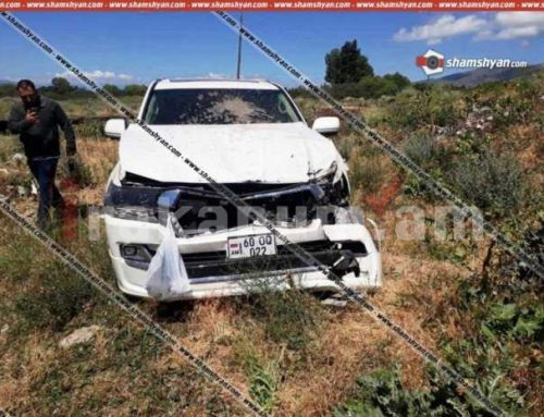 Գեղարքունիքում Toyota Land Cruiser-ը մի քանի պտույտ շրջվելով՝ հայտնվել է ձորակում. Կան վիրավորներ (ֆոտո)