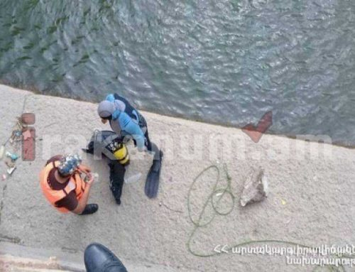 «Արգելի ՀԷԿ»-ի ջրավազանում նկատվել է քաղաքացու դի. իրականացվում են ստորջրյա որոնողական աշխատանքներ