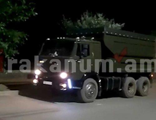 Թումանյանի ոստիկանները 16 խմ ապօրինի փայտանյութով բեռնատար են հայտնաբերել
