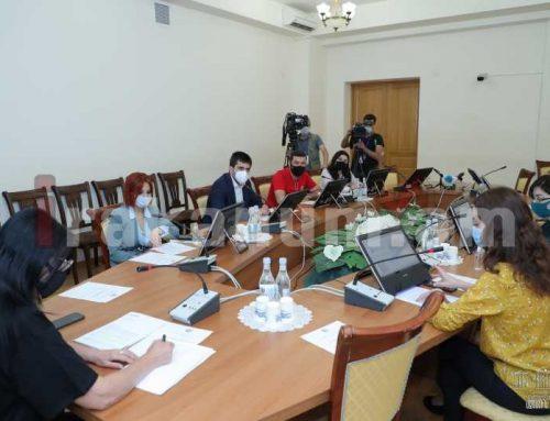 Զոհրաբյանի նախագահությամբ տեղի է ունեցել ԱԺ մարդու իրավունքների պաշտպանության եւ հանրային հարցերի մշտական հանձնաժողովի արտահերթ նիստ