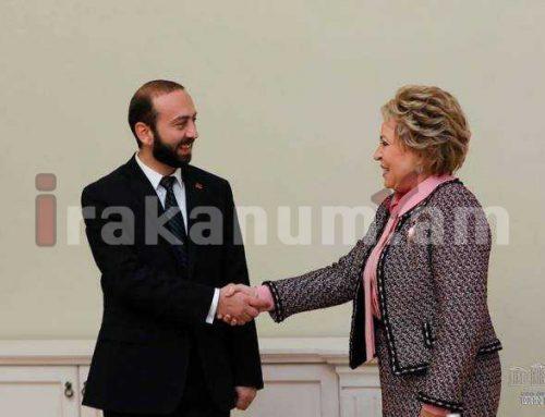 Միրզոյանը հեռախոսազրույց է ունեցել ՌԴ Դաշնային խորհրդի նախագահ Վալենտինա Մատվիենկոյի հետ