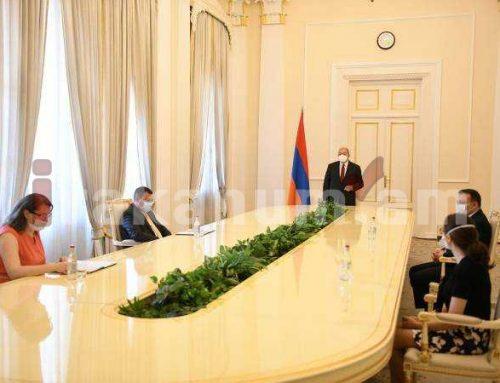 ՀՀ նախագահի նստավայրում տեղի է ունեցել նորանշանակ դատավորների երդման արարողությունը