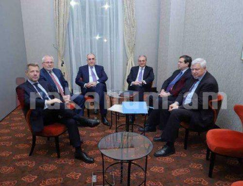 Համանախագահները ողջունում են ՀՀ և Ադրբեջանի ԱԳ նախարարների բանակցությունների պատրաստակամությունը