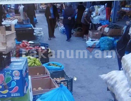 Ի՞նչ կորոնա, ի՞նչ բան… Գյումրիի կենտրոնական շուկան՝ առավոտյան ժամը 7:00-ին