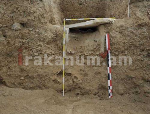 Մարտակերտում շինարարության ժամանակ դամբարան է բացահայտվել