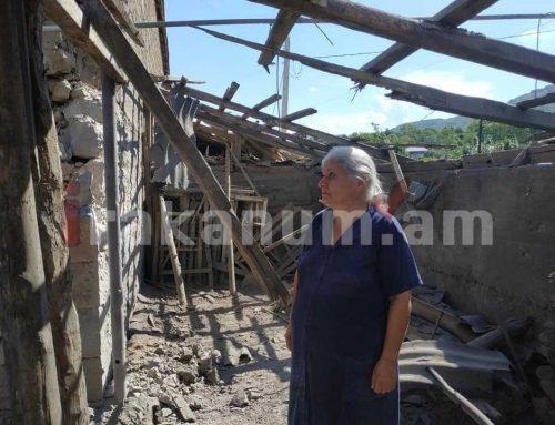 Ադրբեջանական բանակը թիրախավորված հարվածել է Հայաստանում ապրող խաղաղ բնակչությանը