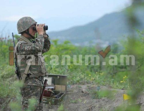 Կրակոցները շարունակվում են․ հայկական կողմը կորուստներ և վիրավորներ չունի