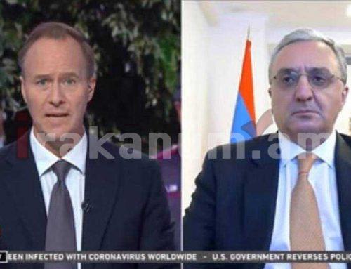 Հայաստանը հանդիասնում է Արցախի անվտանգության երաշխավորը, պատերազմը տարբերակ չէ. Մնացականյան