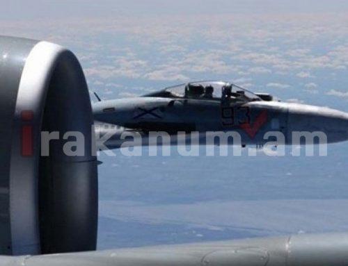 Ռուսական Սու-27 կործանիչները օդ են բարձրացել Սև ծովում՝ ամերիկյան ռազմական հետախույզ-ինքնաթիռը որսալու համար