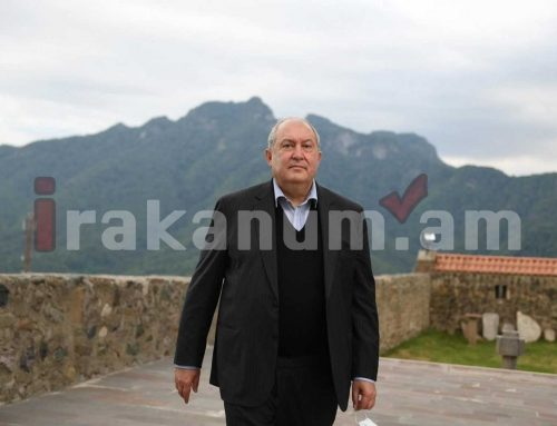 Արմեն Սարգսյանն իր անձնական միջոցներով կօժանդակի Ստեփանակերտի ծննդատան վերազինմանը