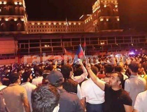 Ժողովրդավարություն ադրբեջանական ձեւով․ հանրահավաքի ընթացքում վիրավորվել է 7 ոստիկան, քրեական գործ է հարուցվել