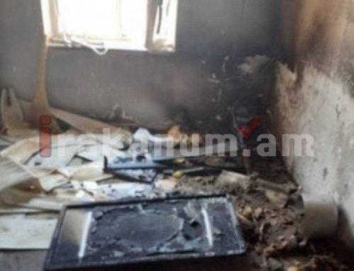 Օշական գյուղի տներից մեկում հրդեհ է բռնկվել