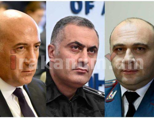 Ոստիկանապետն՝ իր տեղակալների նկատմամբ, ինչպես նաև նախկին ոստիկանապետ Արման Սարգսյանին առնչվող ծառայողական քննություն է նշանակել