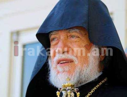 Այո՛, Արցախը, այո՛, Սփյուռքը շարունակությունն են Հայաստանի. Արամ Ա կաթողիկոս