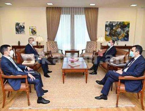 Մասիս Մայիլյանն ու Զոհրաբ Մնացականյանը Երեւանում քննարկել են հայ-ադրբեջանական սահմանին Ադրբեջանի սանձազերծված իրավիճակը