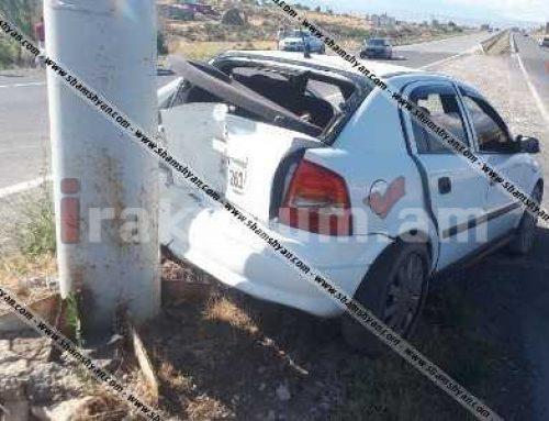 Երևան-Աշտարակ ճանապարհին բախվել են Opel-ն ու Nissan-ը. 2 վարորդների ուղևորները տեղափոխվել են հիվանդանոց