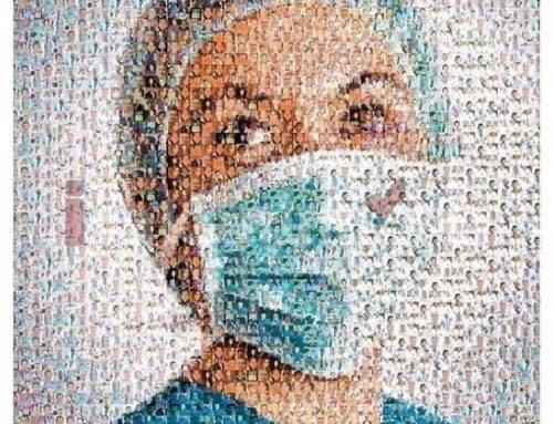 Նկար՝ ստեղծված կորոնավիրուսից մահացած բժիշկների դեմքերից
