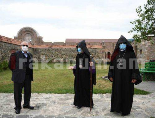Արմեն Սարգսյանն այցելել է Գանձասարի վանական համալիր