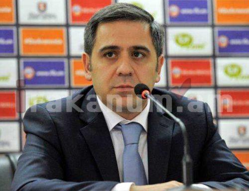 Մեր նպատակն է արմատախիլ անել պայմանավորված խաղերը հայկական ֆուտբոլում. Արմեն Մելիքբեկյան