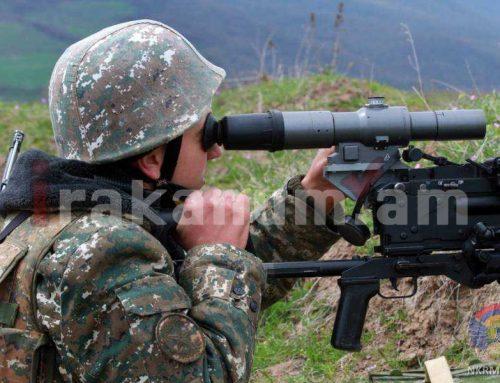 Արցախա-ադրբեջանական հակամարտ զորքերի շփման գծում գիշերը օպերատիվ իրադրությունը հիմնականում հանգիստ է եղել