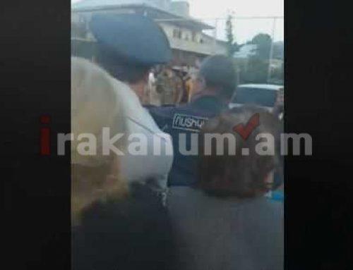 Ոստիկանների եւ տարեց քաղաքացիների միջեւ քաշքշուկ՝ դիմակ չկրելու համար