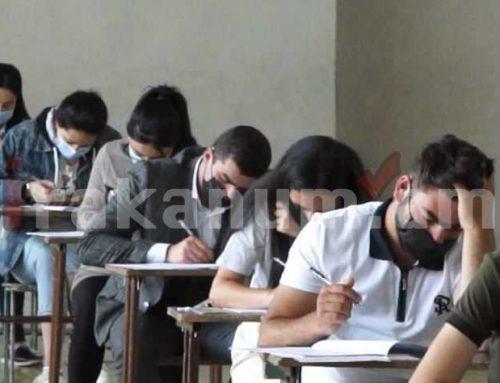 Գյումրիի բոլոր 3 քննական կենտրոններում այսօր անցկացվել են միասնական քննություններ մաթեմատիկա առարկայից