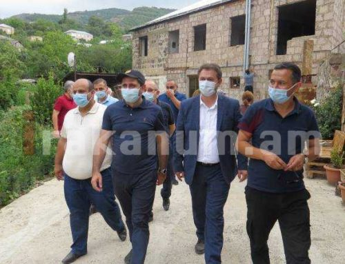 Պապիկյանը Տավուշում այցելել է Ադրբեջանի կողմից հրետակոծումից տուժած համայնքներ