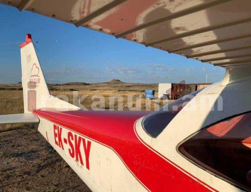 Արծրուն Հովհաննիսյանը ֆեյսբուքյան իր էջում թռչնի թռիչքի բարձրությունից տեսանյութեր և լուսանկար է հրապարակել մակագրելով «Սկսեցինք»