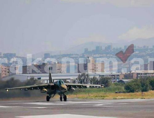 ՀՀ ԶՈւ գրոհային ավիացիոն ուժերը վարժանքներ են իրականացնում