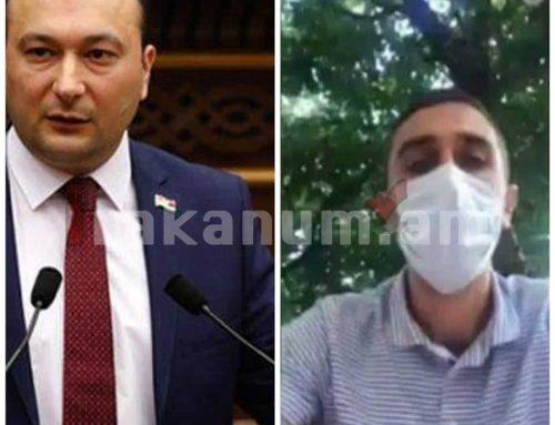 Վահե Էնֆիաջյանն իմ ուղղությամբ չի կրակել. Արթուր Սարգսյան (տեսանյութ)