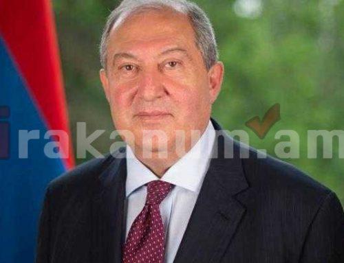 Արմեն Սարգսյանը շնորհավորել է Նիգերի նախագահին