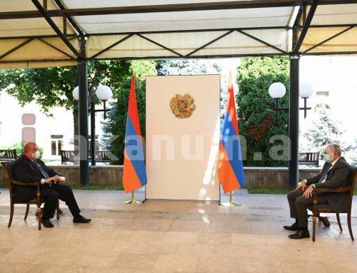Նախագահ Արմեն Սարգսյանն աշխատանքային հանդիպում է ունեցել վարչապետ Նիկոլ Փաշինյանի հետ