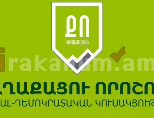 «Քաղաքացու որոշում» կուսակցության հայտարարությունը՝ Բելառուսում տեղի ունեցող իրադարձությունների վերաբերյալ