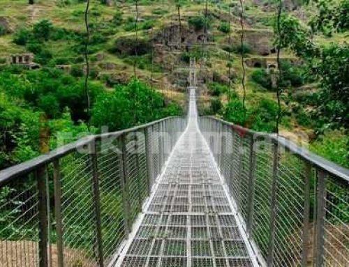 Էդմոն Մարուքյանը Խնձորեսկի ճոճվող կամուրջ տանող ճանապարհի հարցով դիմել է Սուրեն Պապիկյանին