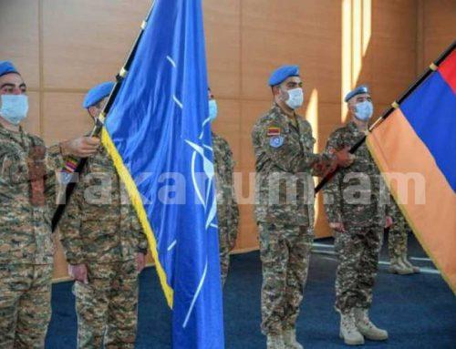 Կոսովոյում խաղաղապահ առաքելություն իրականացնող հայկական զորախումբը հանձնել է հերթափոխը