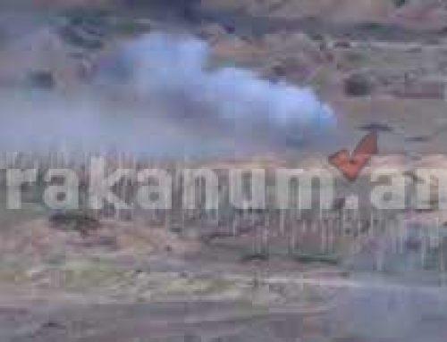 Ադրբեջանական զինտեխնիկայի հերթական կորուստները (տեսանյութ)