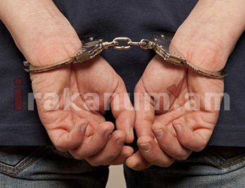 22-ամյա երիտասարդը բերման է ենթարկվել. հայտնաբերվել են փամփուշտներ և ատրճանակ