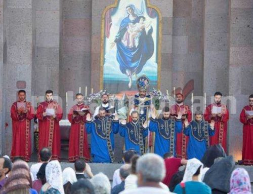Սուրբ Խաչվերացի տոնին Մայր Աթոռում կատարվել է քահանայական ձեռնադրություն