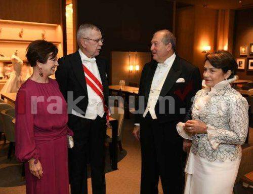 Արմեն Սարգսյանին Հայաստանի Անկախության տոնի առթիվ շնորհավորել է Ավստրիայի նախագահը